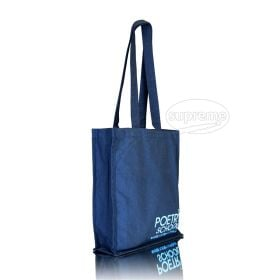 small blue wholesale shopping bag