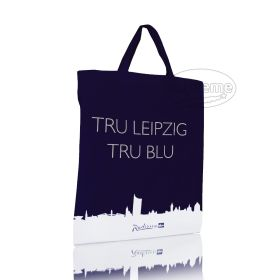 dyed cotton tote bags with logo printed COTBSH1