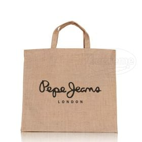 jute bag to hold catalogs for promotions and conferences