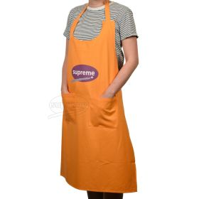 large size apron with pockets