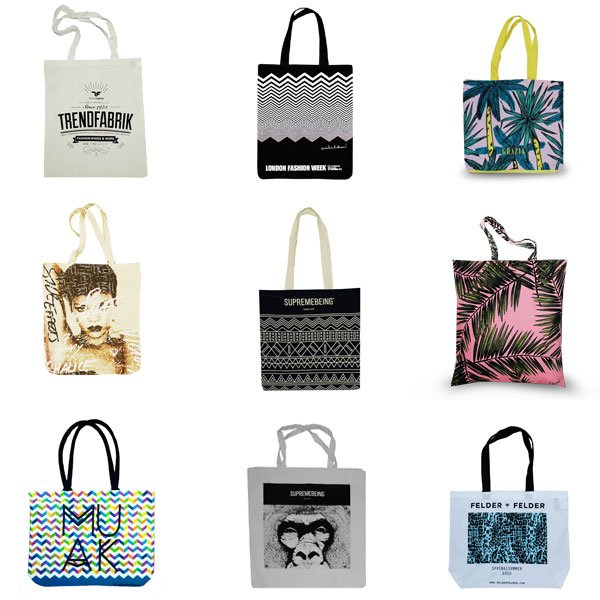 Custom printed bags uk
